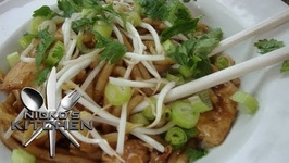 Chicken Satay Noodles