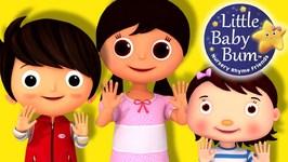Little Baby Bum - Ten Little Fingers - Nursery Rhymes for Babies - Songs for Kids