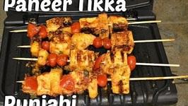 Paneer Tikka - Authentic Punjabi Style