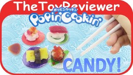 Popin Cookin Happy Sushi House Kracie Japan Candy Instructions Tutorial Unboxing