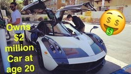 Meet Marc The Youngest Pagani Owner In The World At 20 Yrs Old