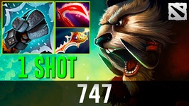 747 Tusk - 1 SHOT 1 KILL-  Dota 2