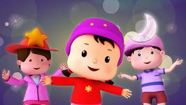 Twinkle Twinkle  Popular Children's Nursery Rhymes  Meeko Dance Rhymes