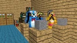 FNAF Monster School: Sculpting - Minecraft Animation (Five Nights At Freddy's)