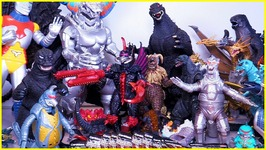My Huge Godzilla Collection: Figures, Toys, Monsters From Godzilla Movies   Bonus Surprise Egg