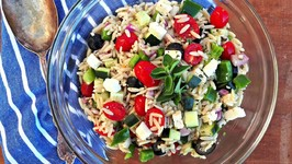 Side Dish - Mediterranean Style Orzo Salad
