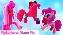 Pinkamena Diane Pie Pinkie Pie Transformation Split My Little Pony Custom