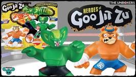 NEW Heroes of Goo Jit Zu  Stretchy Squishy Figures