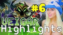 PIKACHU HYPER CARRY - Veigar Highlights 6 League of Legends