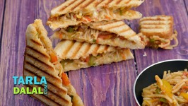 Vegetable Noodle Grilled Sandwich