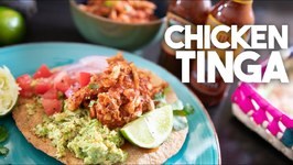 Chicken Tinga / Filling For Tostadas Tacos And Burritos