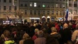 Thousands March in Prague in Support of Press Freedom