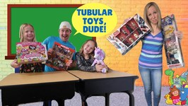 A New BOY Goes to Toy School !!!