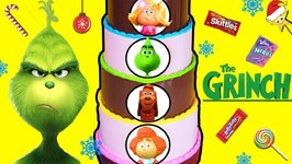 THE GRINCH Candy Cake Game: FIND THE GRINCH'S HEART w/ Surprise Toys  Candy