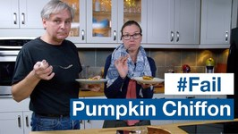 Recipe FAIL Pumpkin Chiffon Pie