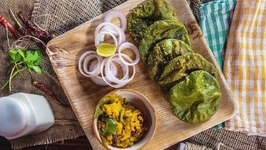Methi Puri With Pumpkin - Easy Indian Meal