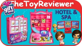 Gift Ems Hotel and Spa Playset Blind Bags Beach Pool Case Unboxing