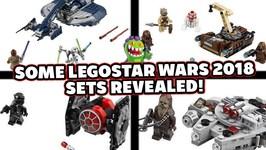 Some Lego Star Wars 2018 Sets Revealed