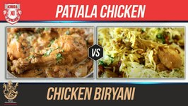KXIP VS RCB - Chicken Patiala - Chicken Biryani - Indian Culinary League - Chicken Recipes By Smita