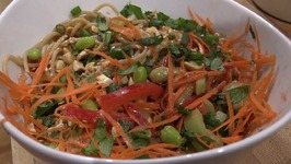 Vegan Thai Peanut Sauce Noodle Bowl Recipe