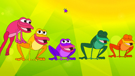 Five Little Speckled Frogs - Children's Popular Nursery Rhymes