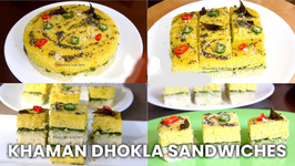 Khaman Dhokla Sandwiches In Cuckoo Electric 8-in-1 Multi Cooker / CMC-QSB501S