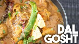 I Made A Delicious Dal Gosht In My Instant Pot - Meat And Lentils Cooked Together