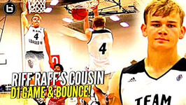 White Boy W/ Stupid Bounce Riff Raff's Cousin Mac Mcclung Eating At Adidas Uprising D1 Bound