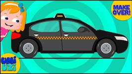 Belgium Taxi Makeover Video for Kids and Babies - Educational Video