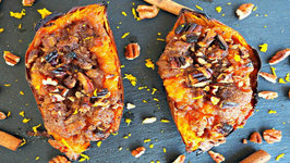 Side Dish Recipe- Twice Baked Sweet Potatoes