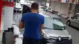Istanbul Street Transformed Into Pond Amid Flooding, Storm