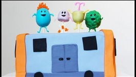 Dumb Ways To Die Train Cake (How To) Mycupcakeaddiction Collaboration
