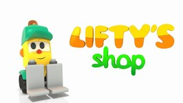 New Cartoon- Lifty's Shop Baby Cartoon- Learn Fruits Names with Lifty the Forklift- Learning video.
