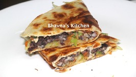 Black Bean And Cabbage Quesadillas Video