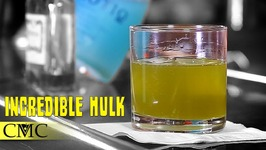 How To Make The Incredible Hulk Cocktail-College Party Drinks And Cognac