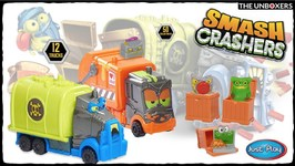 New Smash Crashers Trucks & Surprise Crates with Mystery Toys