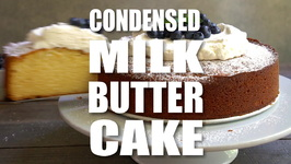 Condensed Milk Butter Cake