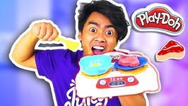 PLAYDOH KITCHEN CREATIONS Sizzlin' Stovetop (Roi's Toy Review)