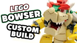 Lego Bowser Nintendo Figure Custom Build