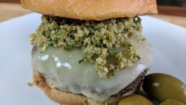 Hamburger / All American Olive Burger / Homemade Burger