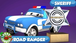 Sheriff Is Here Now - Road Rangers Cartoons - Ep 09