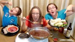 Hot Pot   Recipe -Gay Family Mukbang -Eating Show