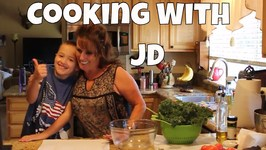 Making Kale Chips With JD