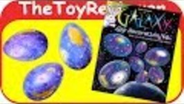 Galaxy Egg Decorating Kit Easter Craft Space Dye Dyeing DIY Unboxing Toy Review by TheToyReviewer