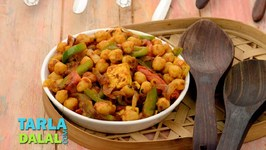 Kabuli Chana And Paneer With Mixed Vegetables
