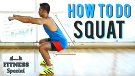 How To Do Perfect Squat - Fitness Special Squats For Beginners Workout