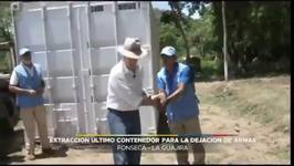 Colombia Declares FARC War Over as Last Container of Weapons Is Removed