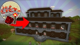 What If WOODLAND MANSIONS Were DECKED OUT With Redstone