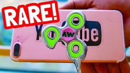 DIY MELTING FIDGET SPINNER for your PHONE - EXTREMELY RARE