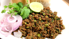 Kheema Pav Recipe - Indian Style Minced Meat/Mutton Keema-The Bombay Chef -Varun Inamdar